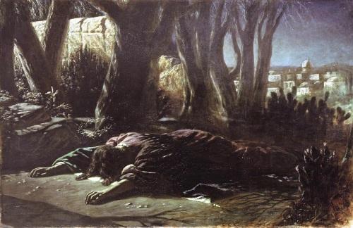christ-in-gethsemane-VasilyPerov
